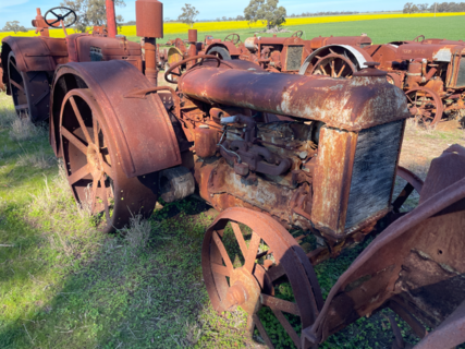 Fordson F Model Tractor