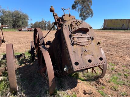 Ransoms Head & Jeffries Portable Steam Engine No. 4892