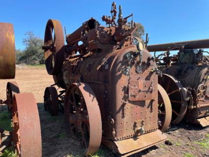 Clayton & Shuttleworth Portable Steam Engine No. 40896