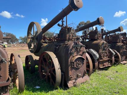 Marshall Portable Steam Engine No. 49960