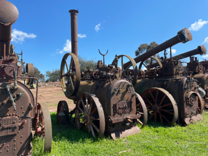 Ruston Hornsby Portable Steam Engine No. 8752