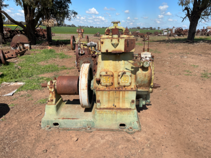 Ruston Hornsby Twin Cylinder Diesel Engine