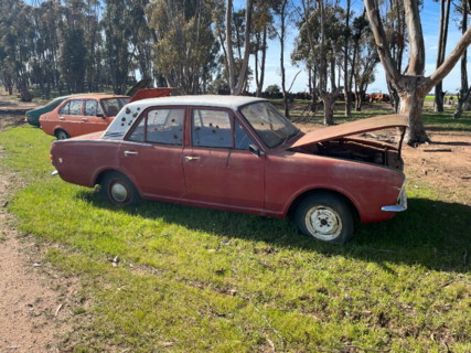 Ford Cortina with Motor