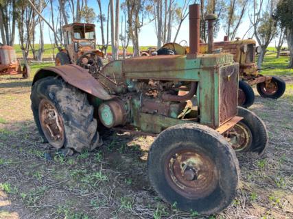 John Deere AR Model Tractor