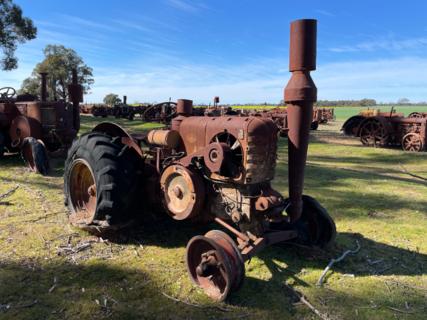 HSCS G Model Tractor Serial No. 27826