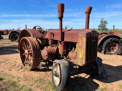 John Deere D Model Styled Tractor