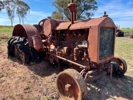 Hanomag Diesel Tractor