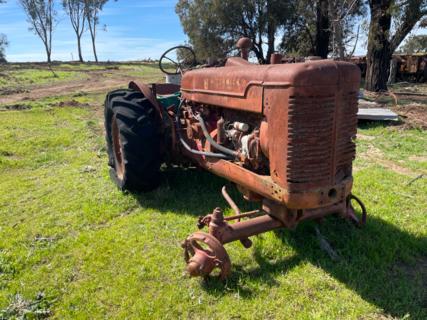 McCormick International A W-6 Tractor