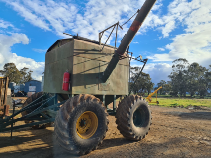 Home-Made 10t Chaser Bin