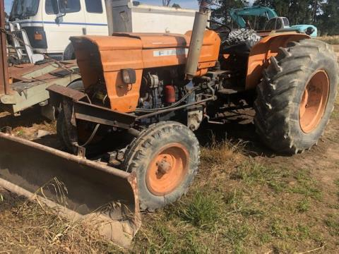 Fiat Tractor with Front Blade 2100mm