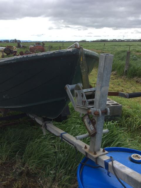 10Ft Tinny Boat and Trailer