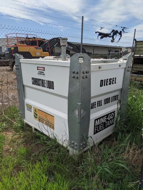 Mine-Go 1000L Diesel Fuel Pod