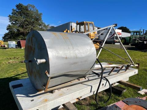 Overhead Diesel Fuel Tank
