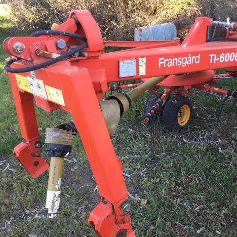 Fransgard TI-6000 Rake