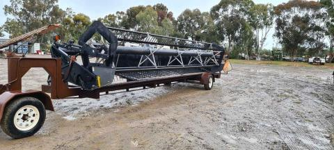25ft Massey Windrowing Front