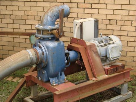 Water Dump and Circulation Pump
