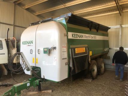 Keenan MF365 Mixing Wagon