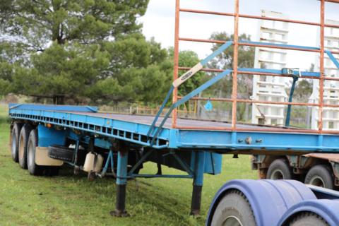 12.5m Freighter tri axle trailer