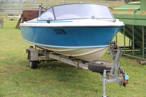 5.2m Hinten fish/ski boat