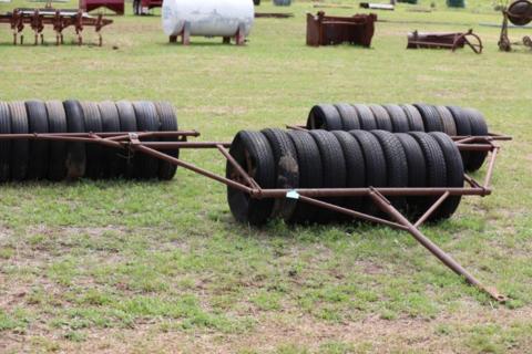 4.2m Tyre roller