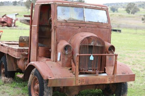Strathfield body works/chev blitz truck