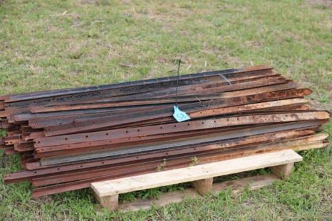 app. 100 used steel posts