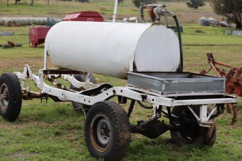 Fuel tank & trailer