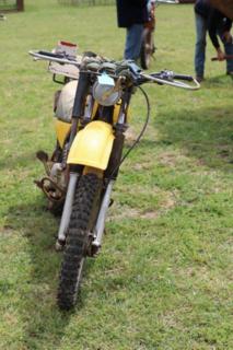 Yamaha ag 200 motorbike