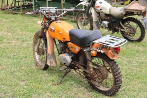 Yamaha ag 175 motorbike
