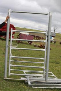 Atlex cattle gates in Frame