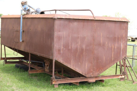 twin bin grouper and stands