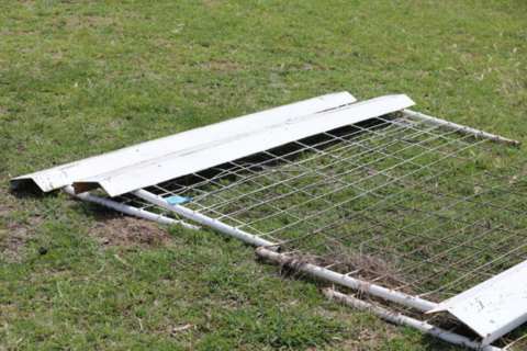 Cattle grid sides