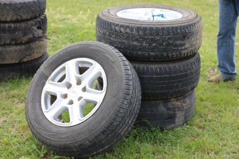 4 6 stud Ford Ranger wheels