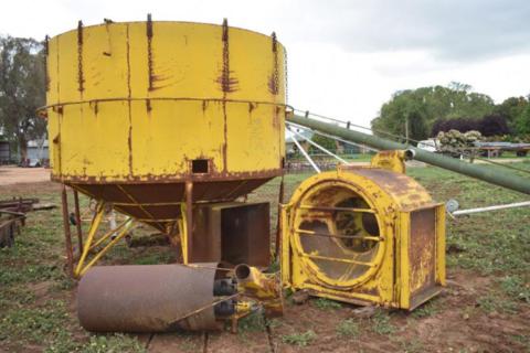 Stevens grain dryer