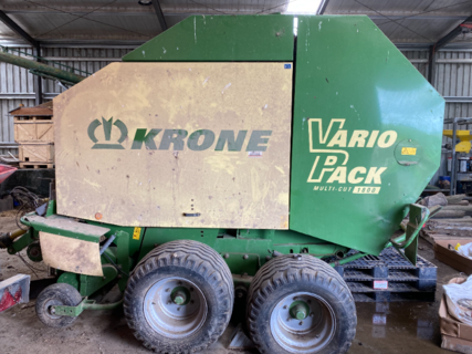 2007 Krone VP1800 Round Baler