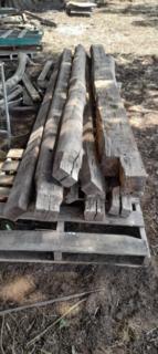 Seasoned Hardwood Beams