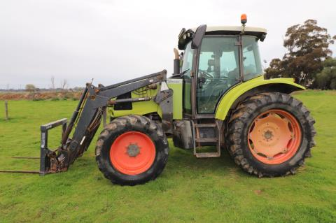 Claas Ares 577ATX tractor 5204hrs