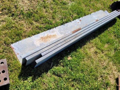 Flashing for Feed Trough 4 x 8Ft