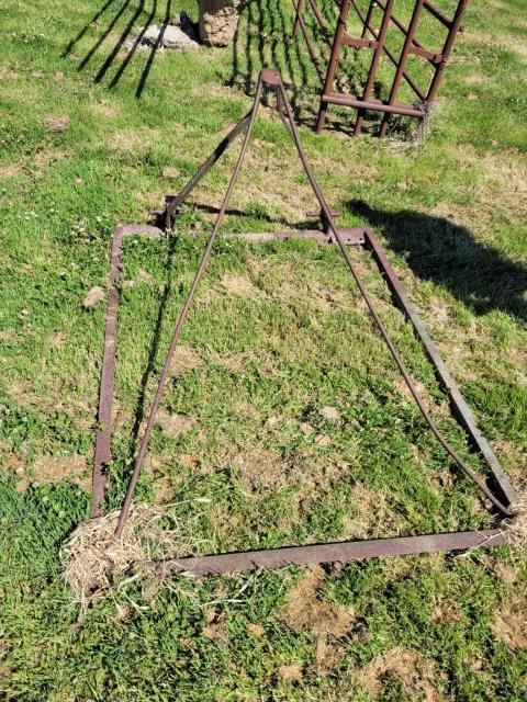 3Pl Pasture Harrow Lifting Frame
