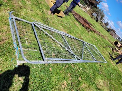 Galvanised Farm Gates x 4