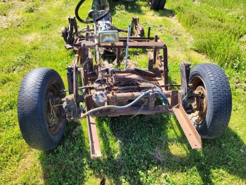 VW Parts/Frame