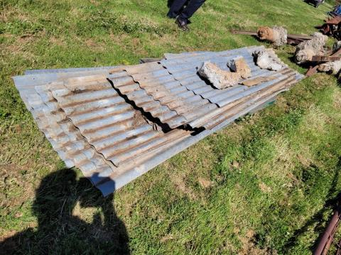 Various Lengths of Corrugated Iron