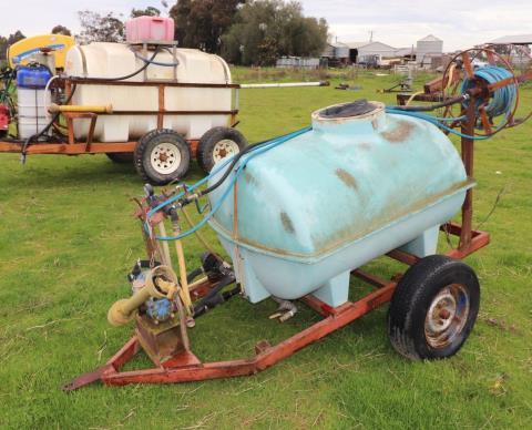 1,000 litre spray unit