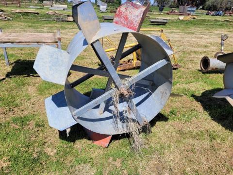 Large Water Wheel (C)