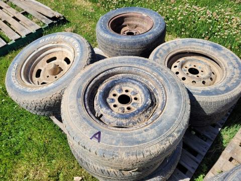 Assorted Tyres & Rims (A)
