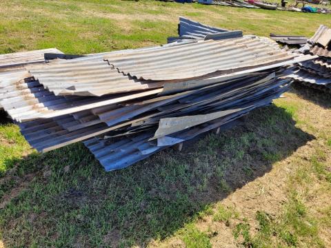 Assorted Corrugated Iron (A)
