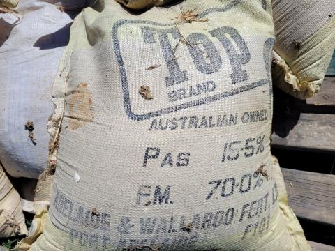 Grounded Phosphate Bags