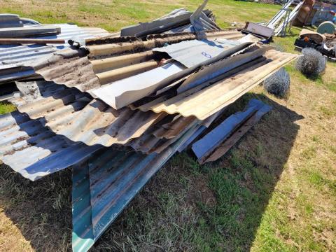 Assorted Corrugated Iron (B)