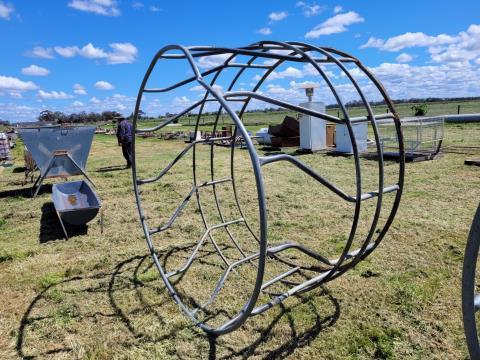 Single 7ft Hay Ring (H)