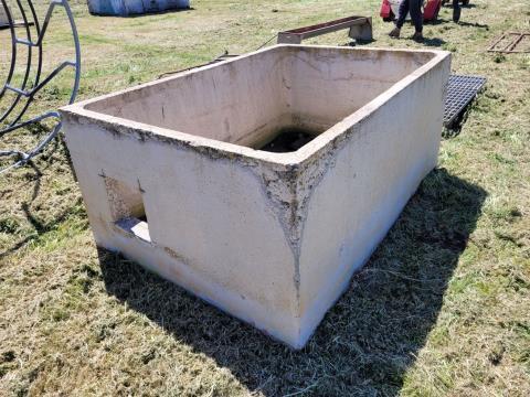 Cement Pump Outlet Pit